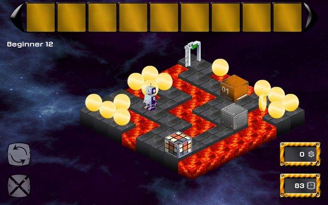Abrix the robot screenshot
