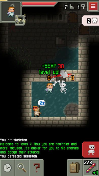 Pixel Dungeon screenshot