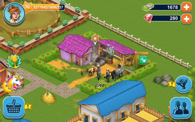 Horse Farm screenshot