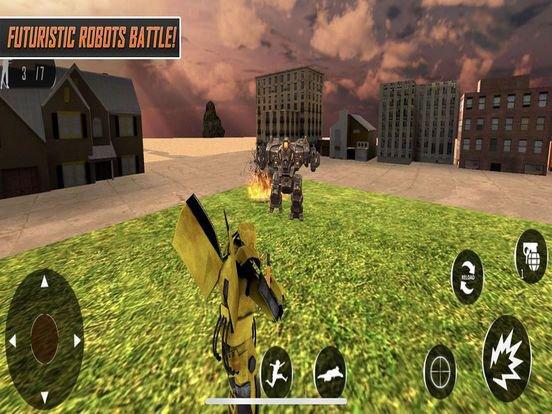 Robot War: Destroy Opponent screenshot