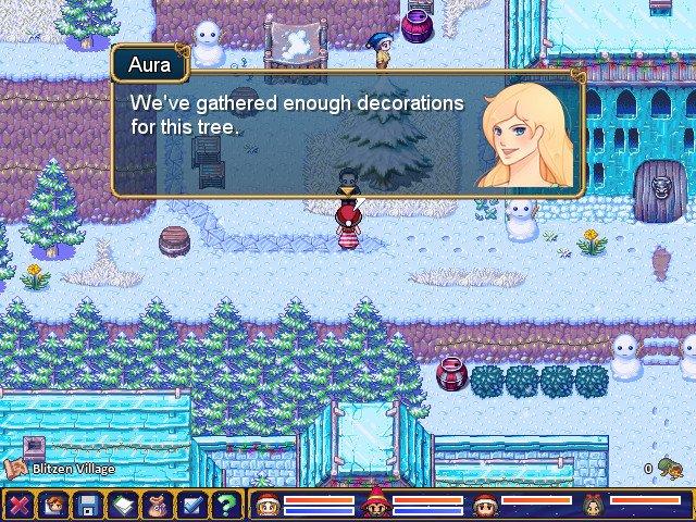 Stargazer Christmas screenshot