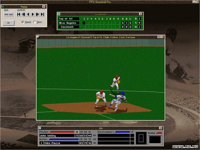 Front Page Sports: Baseball Pro '98 screenshot