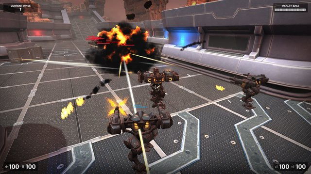 Steel Arena: Robot War screenshot