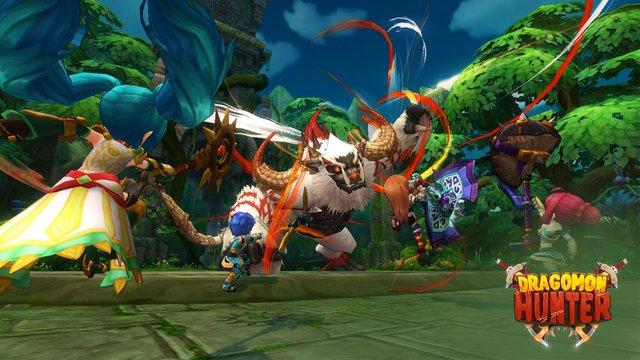 Dragomon Hunter screenshot