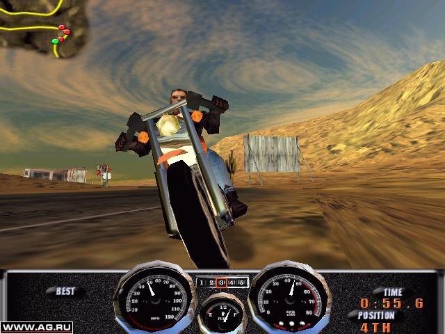 Harley-Davidson's Race Across America screenshot