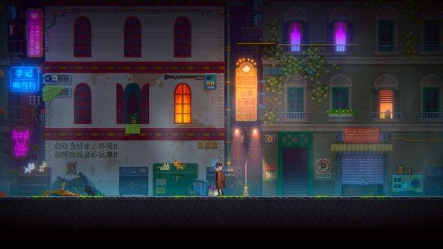 Tales of the Neon Sea screenshot