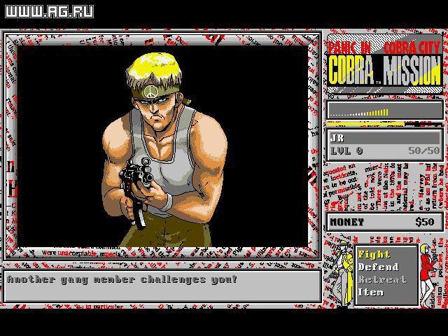 Cobra Mission: Panic in the Cobra City screenshot