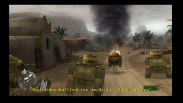 Call of Duty 2: Big Red One screenshot