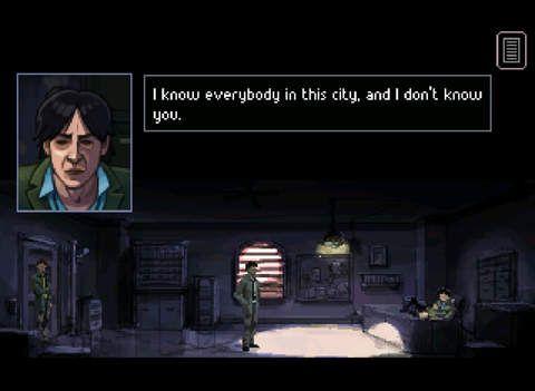 Gemini Rue: Заговор на Барракусе screenshot