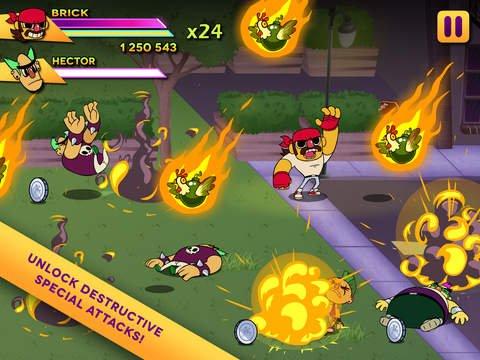 Big Action Mega Fight! screenshot