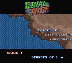 Rival Turf! (1992) screenshot