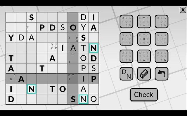 Word Sudoku by POWGI screenshot