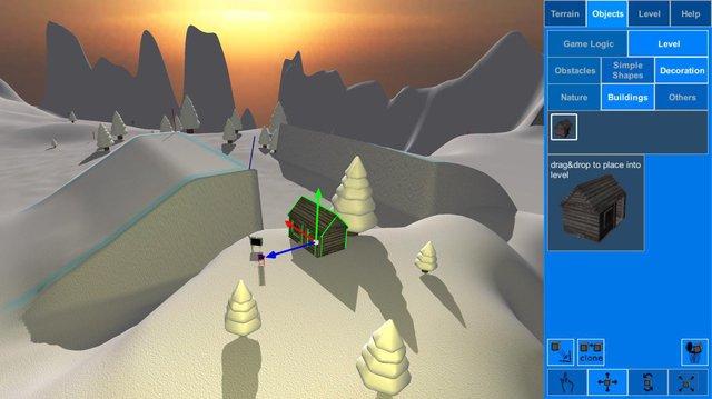 Mad Snowboarding (itch) screenshot