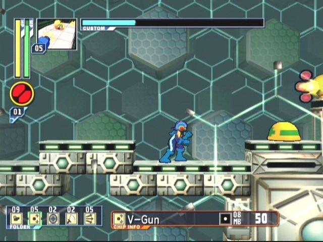 Mega Man Network Transmission screenshot