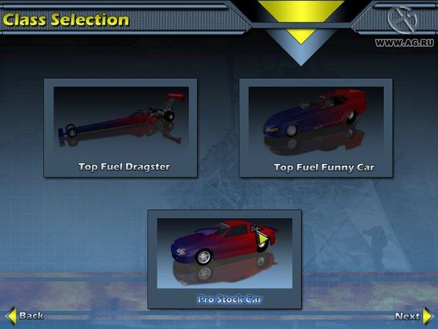 NHRA Drag Racing: Top Fuel Thunder screenshot