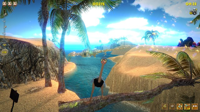 Ostrich Island screenshot
