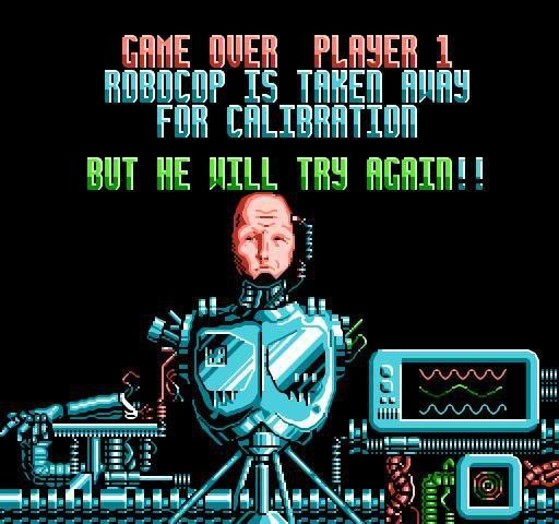 Robocop 2 screenshot