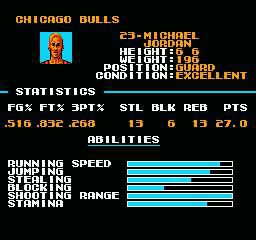 Tecmo NBA Basketball screenshot