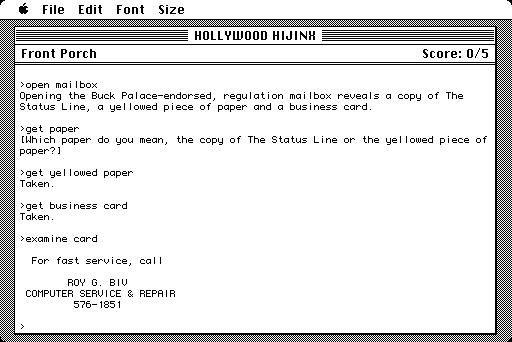 Hollywood Hijinx screenshot