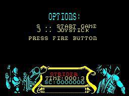 Strider (1989) screenshot