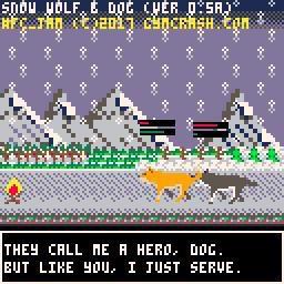 Snow Wolf and Dog (#FC_JAM Edition) screenshot