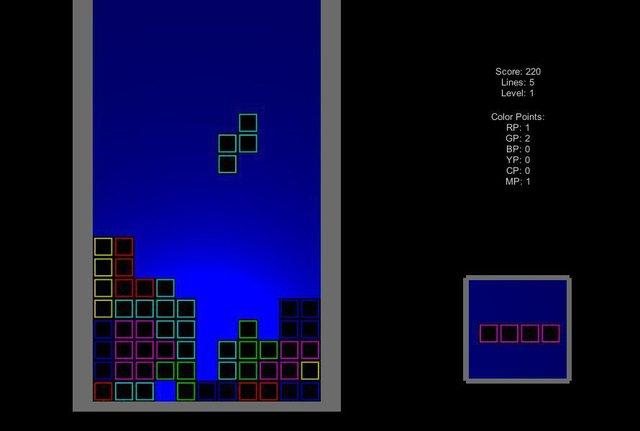 Ledtris screenshot