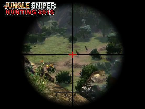 Wild Animal Sniper 2016 - Jungle Hunting Safari screenshot