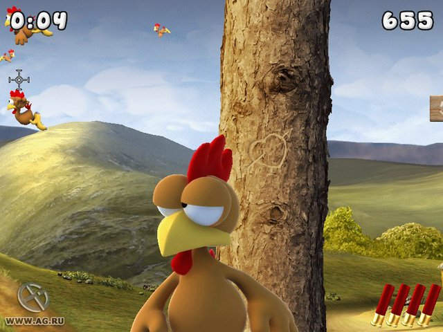 Moorhuhn Remake screenshot