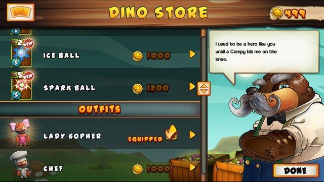 Go Home Dinosaurs! screenshot