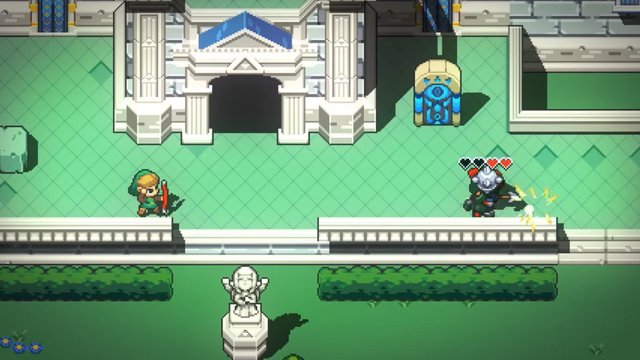 Cadence of Hyrule - Crypt of the NecroDancer Featuring the Legend of Zelda screenshot