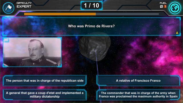 Space Quiz screenshot