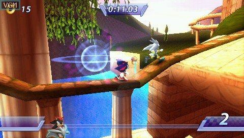 Sonic Rivals screenshot