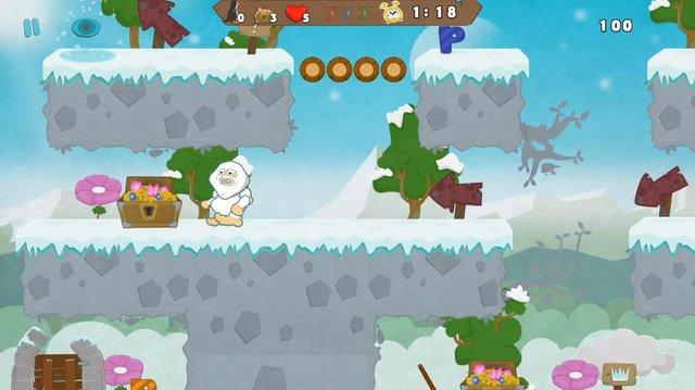Yeti Adventure screenshot
