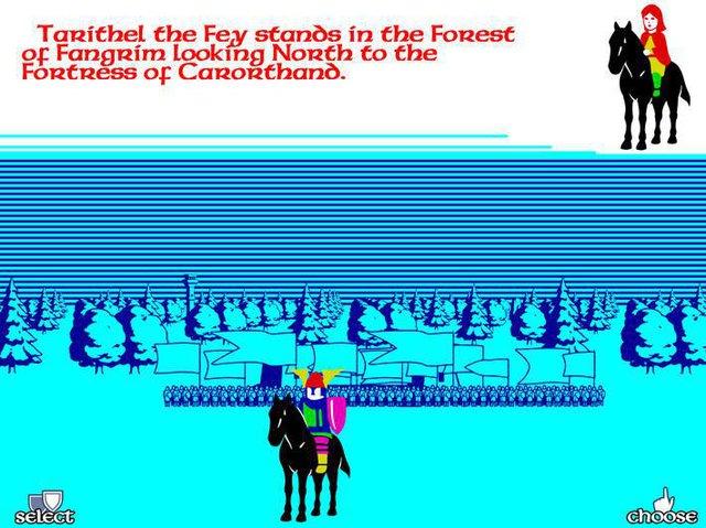 Doomdark's Revenge screenshot