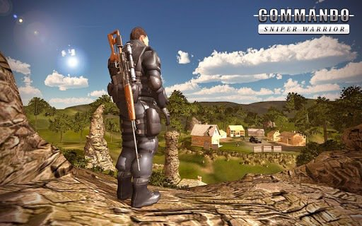 Sniper Ghost Commando Warrior - Jungle Survival screenshot