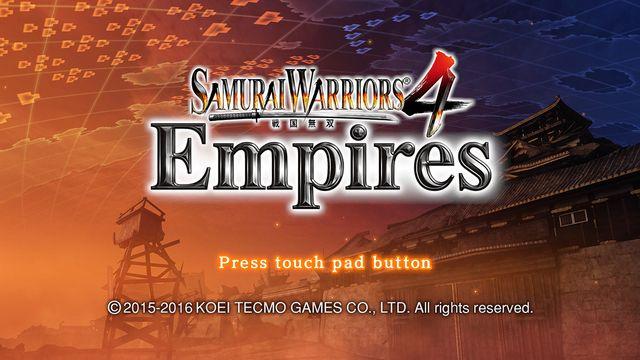 SAMURAI WARRIORS 4 Empires screenshot