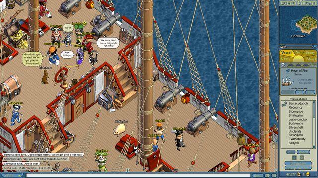 Puzzle Pirates: Dark Seas screenshot