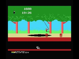 Pitfall! (1982) screenshot