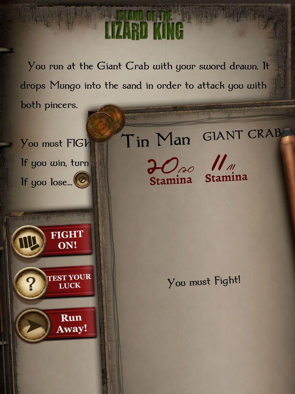 Fighting Fantasy Classics screenshot