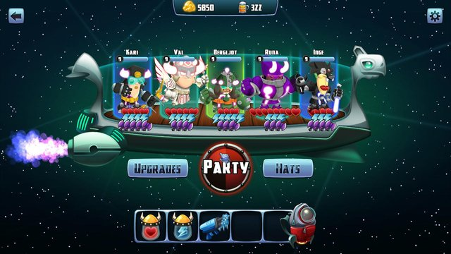 Star Vikings Demo screenshot