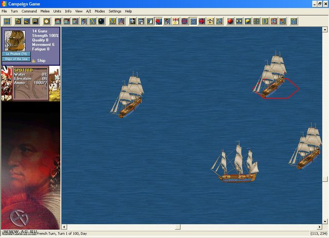 The French and Indian War screenshot