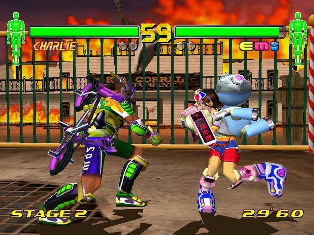 Fighting Vipers 2 screenshot