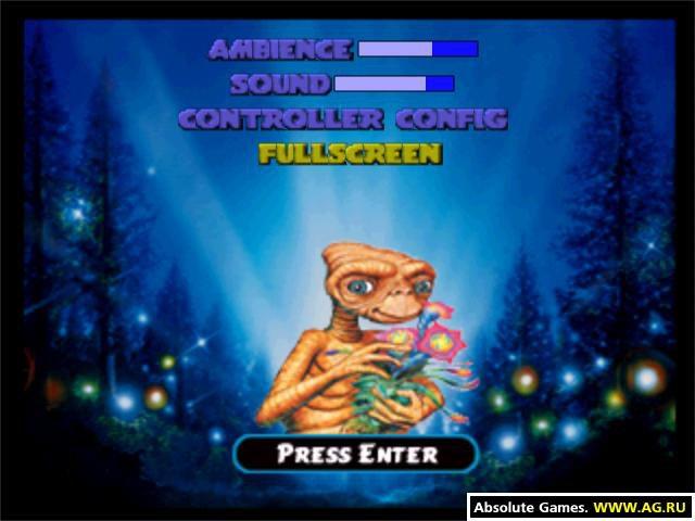 E.T.: Interplanetary Mission screenshot