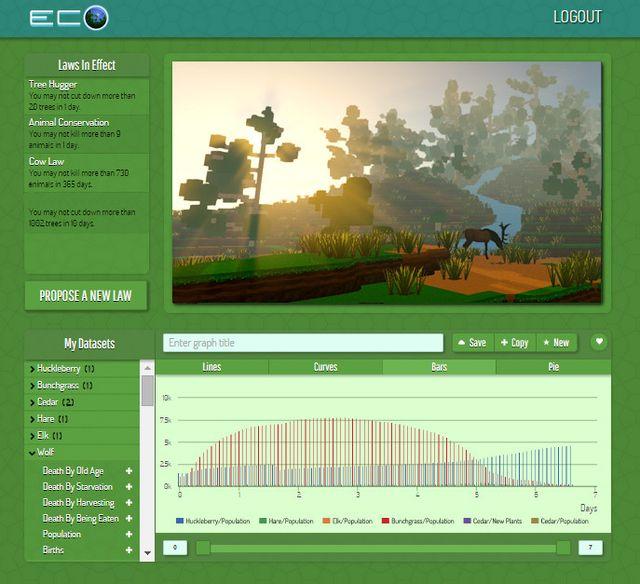Eco - Global Survival Game screenshot