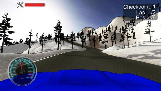 Looney Rally screenshot