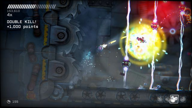 RIVE: Wreck, Hack, Die, Retry! screenshot
