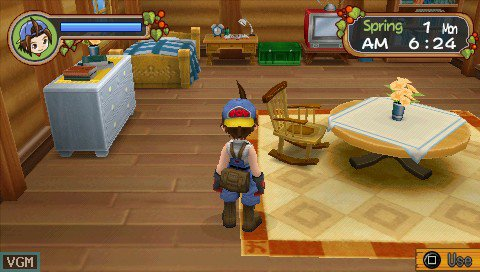 Harvest Moon: Hero of Leaf Valley screenshot