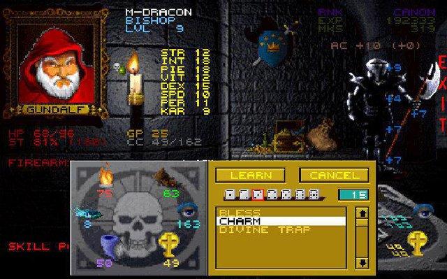 Wizardry 6+7 screenshot