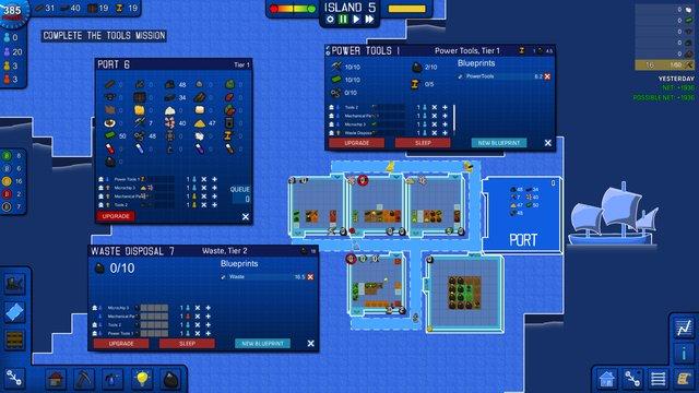 Blueprint Tycoon screenshot