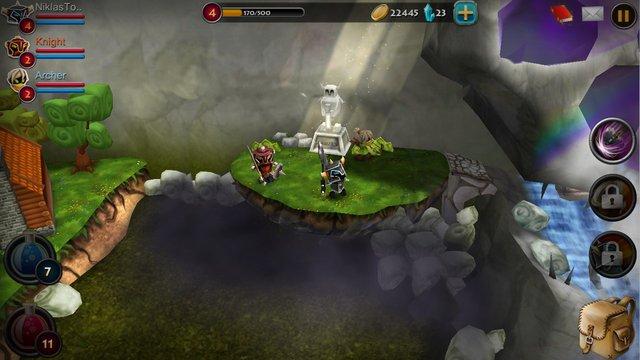 Elements: Epic Heroes screenshot